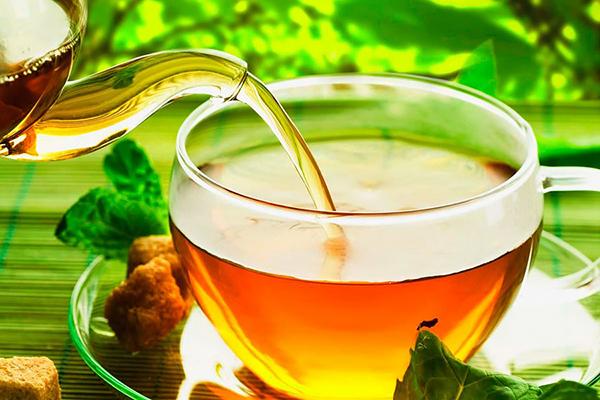 Как приготовить имбирный чай для п